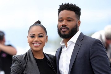 Zinzi Evans Rendezvous With Ryan Coogler Photocall - The 71st Annual Cannes Film Festival
