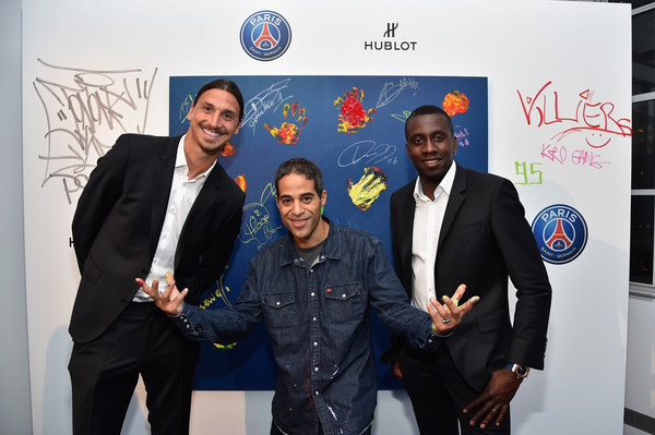 Hublot Launches its Latest Timepiece With Paris Saint-Germain Team and Celebrates Partnership in New York City