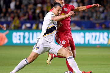 Zlatan Ibrahimovic New York Red Bulls vs. Los Angeles Galaxy