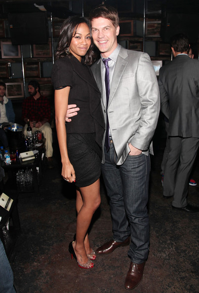 zoe saldana and keith britton. Keith Britton and Zoe Saldana