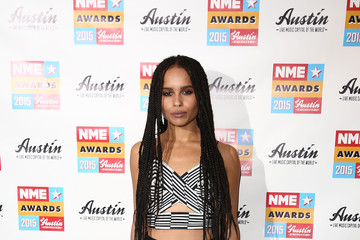 Zoe Kravitz NME Awards - Winners Room