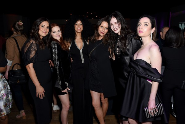 13th Annual Women In Film Female Oscar Nominees Party Presented By Max Mara, Stella Artois, Cadillac, And Tequila Don Julio, With Additional Support From Vero Water - Inside [with additional support from vero water - inside,event,fashion,little black dress,fun,party,dress,fashion design,nightclub,night,bachelorette party,13th annual women in film female oscar nominees party,tequila don julio,stella artois,madeline brewer,bahia watson,amy landecker,support,max mara,cadillac,amy landecker,zoe lister-jones,madeline brewer,carol shaya,angelique cabral,life in pieces,livingly media,photography,lonny]