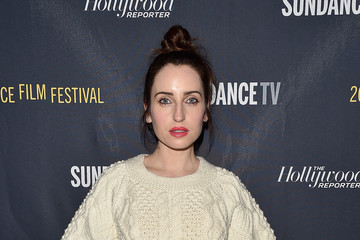 Zoe Lister Jones The Hollywood Reporter And Sundance TV 2017 Sundance Film Festival Official Kickoff Party - Arrivals - Park City 2017