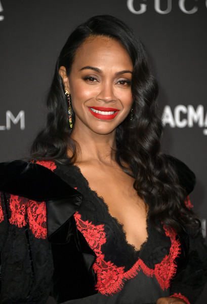Zoe Saldana Zoe Saldana Photos 2019 Lacma Art And Film