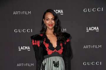 Zoe Saldana 2019 LACMA Art And Film Gala Presented By Gucci - Arrivals