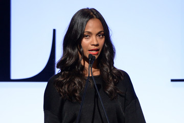 Zoe Saldana 22nd Annual ELLE Women in Hollywood Awards - Show
