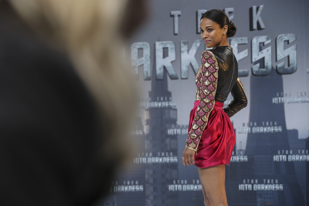 Zoe Saldana - 'Star Trek Into Darkness' Premieres in Berlin