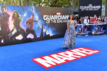 Zoe Saldana 'Guardians of the Galaxy' Premieres in London — Part 2