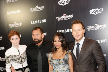 Zoe Saldana 'Guardians of the Galaxy' Premieres in London