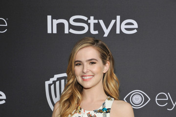 Zoey Deutch The 2017 InStyle and Warner Bros. 73rd Annual Golden Globe Awards Post-Party - Red Carpet