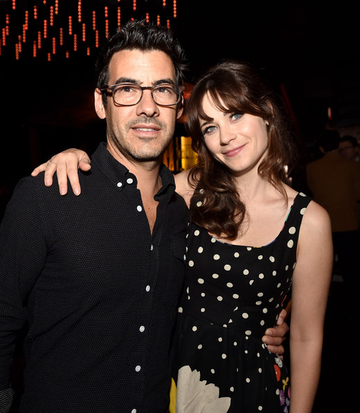 Jacob Pechenik and his wife Zooey Deschanel