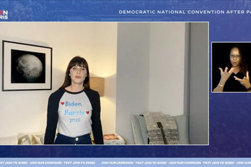 Zooey Deschanel Musical Acts Perform For The 2020 Democratic National Convention