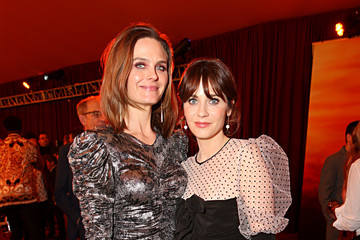Zooey Deschanel The World Premiere Of Disney's 'The Lion King'