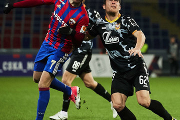 Zoran Tosic PFC CSKA Moscow vs FC Arsenal Tula - Russian Premier League