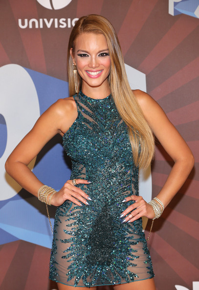 Zuleyka Rivera Zuleyka Rivera performs onstage during the Premios