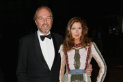 Arturo Artom and Anna Repini arrive at amfAR Milano 2015 at La Permanente on September 26, 2015 in Milan, Italy.