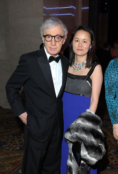 Woody Allen and Soon-Yi Previn attend the amfAR New York Gala to kick    Woody Allen Soon Yi 2013