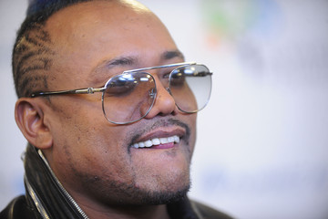 apl.de.ap Arrivals at the Pinoy Relief Benefit Concert