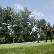 Tiger Woods and Steve Williams Photos