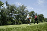 Tiger Woods and Steve Williams Photos Photo