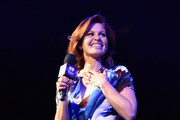 Candace Cameron Bure speaks onstage during the iHeart80s Party 2017 at SAP Center on January 28, 2017 in San Jose, California.