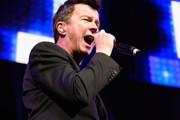 Musician Rick Astley performs on stage during the iHeart80s Party 2017 at SAP Center on January 28, 2017 in San Jose, California.