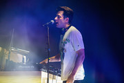 Mark Ronson performs a DJ set on stage at iHeartRadio Live and Verizon Bring You Mark Ronson at Showbox SoDo on August 13, 2019 in Seattle, Washington.