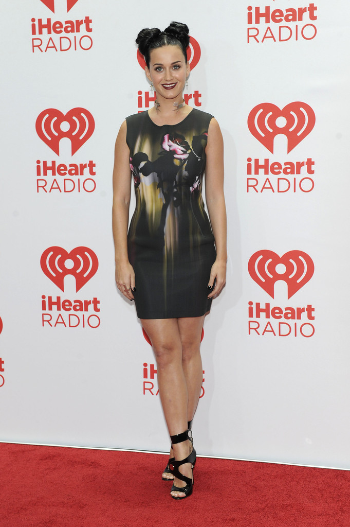 Entertainer Katy Perry attends the iHeartRadio Music Festival at the MGM Grand Garden Arena on September 20, 2013 in Las Vegas, Nevada.