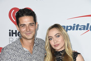 Wells Adams and Brandi Cyrus attend the iHeartRadio Podcast Awards Presented By Capital One  at iHeartRadio Theater on January 18, 2019 in Burbank, California.