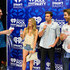 Zack Kalter Becca Tilley Photos - (L-R) Radio personality Brotha Fred, TV personalities Becca Tilley, Zack Kalter and Robert Graham attend The iHeartRadio Summer Pool Party at Caesars Palace on May 30, 2015 in Las Vegas, Nevada. - The iHeartRadio Summer Pool Party - Backstage