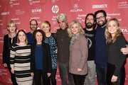 """Cast and crew attend the """"I'll See You In My Dreams"""" premiere during the 2015 Sundance Film Festival on January 27, 2015 in Park City, Utah."""