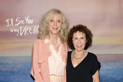 """Actresses Blythe Danner (L) and Rhea Perlman attend the """"I'll See You In My Dreams"""" New York Screening at Tribeca Grand Screening Room on May 11, 2015 in New York City."""