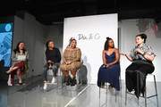 Julie Tong, Venus Williams, Lizzo, Tracy Reese, and Nadia Boujarwah speak onstage during theCURVYcon Powered By Dia&Co on September 7, 2018 in New York City.