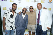 """(L-R) B.T., Jermaine Dupri, Bow Wow and Steven Prudholme attend WE tv """"Power, Influence & Hip Hop: The Remarkable Rise Of So So Def"""" celebration and Season 3 of """"Growing Up Hip Hop Atlanta"""" at The London West Hollywood on July 16, 2019 in West Hollywood, California."""