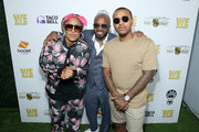 """(L-R) Da Brat, Jermaine Dupri and Bow Wow attend WE tv """"Power, Influence & Hip Hop: The Remarkable Rise Of So So Def"""" celebration and Season 3 of """"Growing Up Hip Hop Atlanta"""" at The London West Hollywood on July 16, 2019 in West Hollywood, California."""