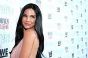 """Model Jayde Nicole attends WE tv's premiere of """"Kendra On Top"""" and """"Driven To Love"""" at Estrella Sunset on March 31, 2016 in West Hollywood, California."""