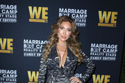 Farrah Abraham attends WE tv celebrates the premiere of 'Marriage Boot Camp' at SkyBar at the Mondrian Los Angeles on October 10, 2019 in West Hollywood, California.