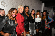 "(L-R) Quad Webb, Eva Marcille, Kenya Moore, Tammy Rivera, Princess Banton-Lofters, and Kandi Burruss attend the premiere of ""Waka & Tammy: What The Flocka"" at Republic on March 10, 2020 in Atlanta, Georgia."