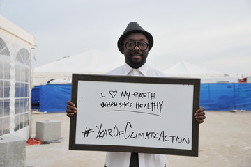 will.i.am Global Citizen 2015 Earth Day On National Mall To End Extreme Poverty And Solve Climate Change - Backstage & VIP Lounge