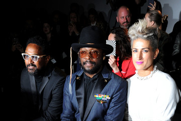 will.i.am Front Row & Arrivals - Day 2 - LFW September 2016