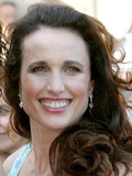 Andie MacDowell Rhett Hartzog married