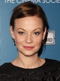 Samantha Morton Harry Holm engaged