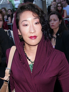 Sandra Oh and husband