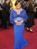 Who was best dressed at the 2012 Oscars?