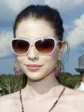 Who wears cateye sunglasses best?