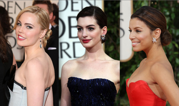 Celebrity Hairstyles: Chignons, Low Buns - Hairstyles for Long Hair - Zimbio