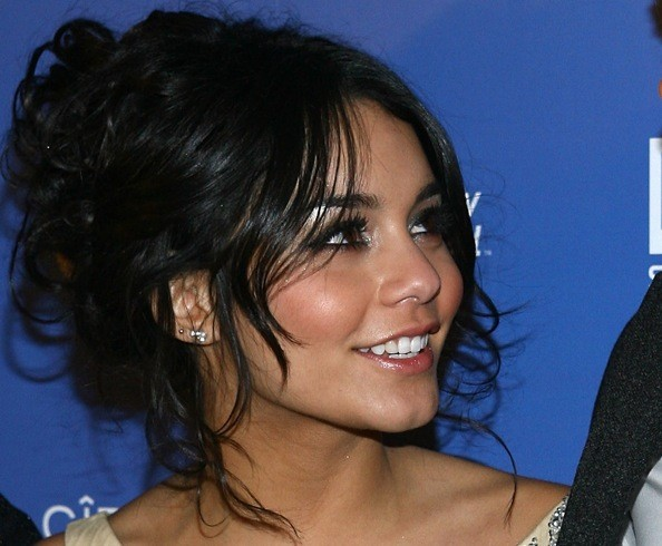Vanessa Hudgens Prom Hairstyle Ideas 2009 - Celebrity Prom Hairstyles -