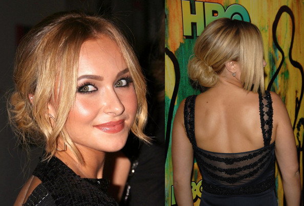 hayden panettiere updo haircuts styles