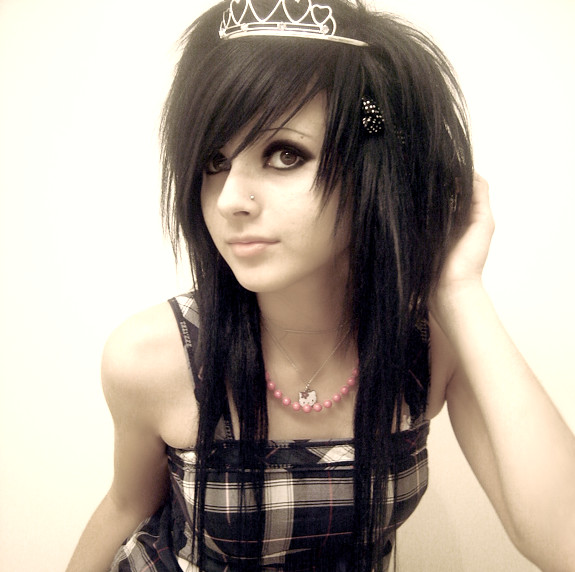 Photos Emo Hairstyle With Cute Girl Emo Hairstyles Typically Hot Scene Emo Hairstyle Photos Gallery