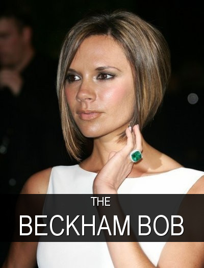 Posh Spice's Short Formal Hairstyles